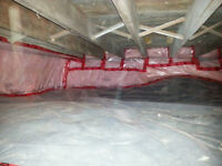 BSIRK BTHROOMS AND RENOVATIONS .....INSULATION AND DRAFT SEALIN