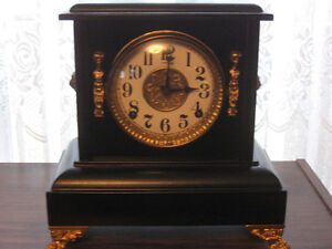 VINTAGE 1920s SESSIONS MANTLE CLOCK, WORKING