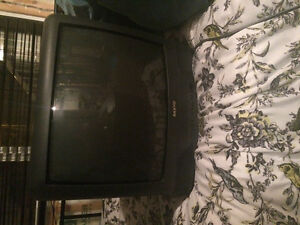 "26"" Sanyo Tube TV with Built In Speakers"