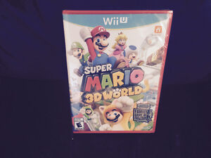 Mario 3d world red case sealed collector item