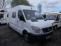 2007 Mercedes benz Sprinter 3.5t High Roof Van Campervan motorhome 5 door Mot...