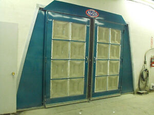 Attlantic twin flow spray booth