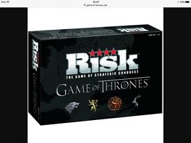 Game of Thrones Risk - New