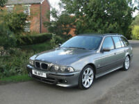 2004 BMW 530D M-SPORT AUTO TOURING ESTATE - P/PLATE INCULDED IN SALE - NAFF