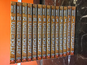 Attack on Titan book collection