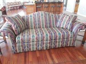 Mint condition quality Sherrill couch for sale $100