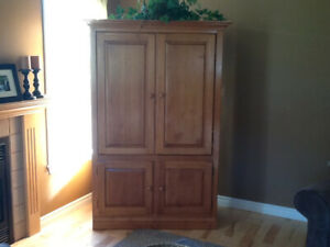 Armoire entertainment centre