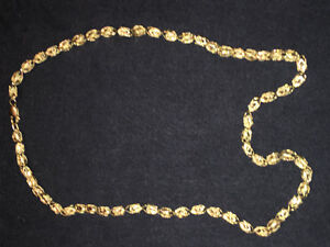 """10K Gold Unique Chain Weighs 28.1 Grams 24"""" Length !! Reasonable"""