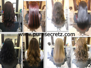 HAIR EXTENSIONS*HALF PRICE OF GL & OURS WILL LAST OVER 1 YEAR London Ontario image 2