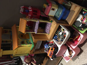 Big lot of toys!