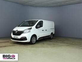 2017 RENAULT TRAFIC SL27 DCI 120 BUSINESS PLUS SWB LOW ROOF VAN SWB DIESEL