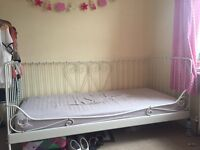 IKEA single day bed including matress