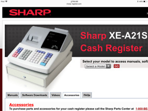 New sharp electronic cash register xe-a21s $195 call6478688093