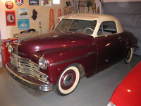 1949 PLYMOUTH 3 Passenger Coupe
