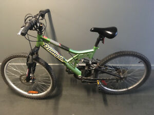 Men's triumph mountain bike
