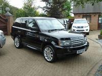 2007 Land Rover Range Rover Sport 3.6TDV8 Auto HSE ( 57000 MILES FSH )