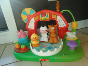 Ferme tournante Fisher Price