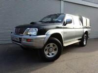 2002 52 MITSUBISHI L200 2.5 4LIFE LWB DCB 4WD 1D 114 BHP DIESEL
