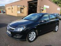 5707 Vauxhall Astra 1.6 16v ( 115ps ) SXi Black 5 Door 66650mls MOT 12m