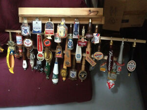 Instant man cave beer taps and lights