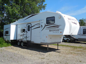 Just arrived - 2011 Rockwood 8281ss with Bunk house