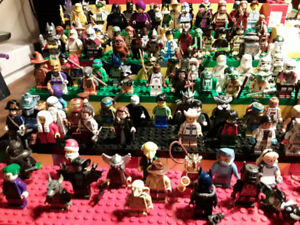 Minifigs at the forum. $1 off each figure.