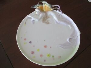 Gallant Fairy Butterfly Monarch design Win Brother Plate