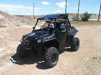 Mint 2014 Polaris Stealth Black Rzr