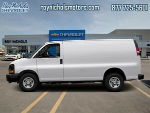2016 Chevrolet Express Cargo Van 1WT  - Certified -  Power Doors