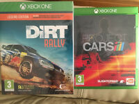 Dirt Rally And Project Cars Xbox One