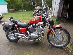 Moto Yamaha Virago Édition Spéciale 1996 (Tout équipée)