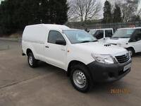 2014 64 Toyota Hi-Lux 20k 2.5D-4D 4WD Active Single Cab Pick up rear canopy 4x4