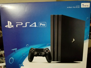 BRAND NEW PS4 PRO SEALED IN BOX $475
