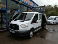 2016 Ford Transit Tipper 2.2 TDCi 125ps Double Cab Ingimex Body Twin Wheel CHASS