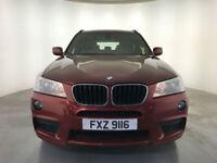 2014 BMW X3 XDRIVE20D M SPORT AUTO 4 WHEEL DRIVE 1 OWNER SERVICE HISTORY FINANCE