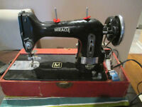 Vintage Necchi Miracle Sewing machine Working Take A Look