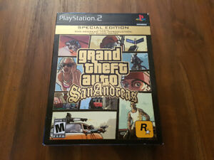 Grand Theft Auto: San Andreas Special Edition pour PS2 - *Rare!*