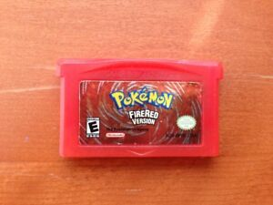Pokemon Fire Red Nintendo Gameboy Advance