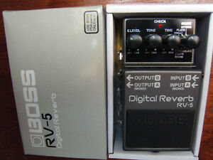 Boss Pedal Digital Delay,Power Stack,Dynamic Wah,Digital Reverb,