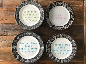 13 x Dinnerware Dinner Plates - Made in Japan - V GOOD CONDITION! Keilor Park Brimbank Area Preview