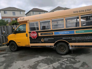 2002 Chevy Express School bus for sale!!