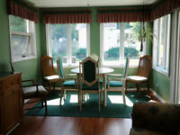 Dining/Kitchen Table and 4 Chairs