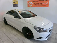 2013 Mercedes-Benz CLA 180 1.6 122 Sport NAV, ALLOYS **BUY FOR ONLY £81 A WEEK**