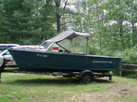 18' Starcraft Boat and Shorelander Trailer