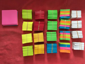 Colorful origami folding paper for Crafts/DIY
