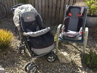 Mama and Papa pram, Graco car seat ( Reduced sale due to moving home, now £50)