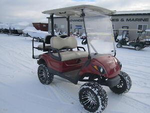 GAS GOLF CARTS-LARGE SELECTION AVAILABLE*FINANCING AVAIL.O.A,C
