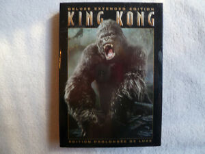 King Kong 2005 Édition Prolongée de Luxe en DVD