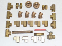 """1/4"""" Brass Pipe Fittings"""