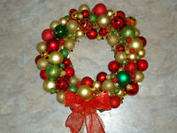 Christmas Ball Wreaths